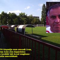 ESMTK: FELKÉSZÜLÉSRE FEL! Menczeles Iván végül nem távozott Ceglédre, így a rutinos szakember vezetésével vívhatnak edzőmérkőzést az erzsébetiek a Vasas és a Ferencváros ellen