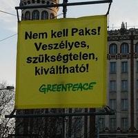 Problémám van a Greenpeace-szel