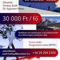 Túrasi-, és lavinatanfolyam/ Backcountry and avalanche course