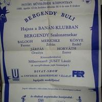 Nagyszabású Bergendy Buli '88
