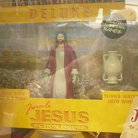Csudatévő Jézus akcióbaba