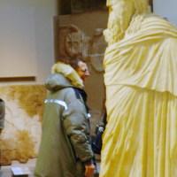 Goldblum volt a muziumban