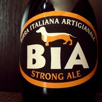 BIA strong ale - tacskóknak