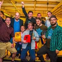Tarolt a Mad Scientist a Főzdefeszt-Flyerz díjátadón