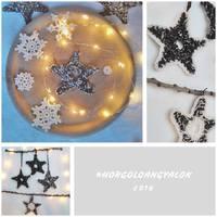 Horgolj velünk karácsonyra – magnó kazettás csillag