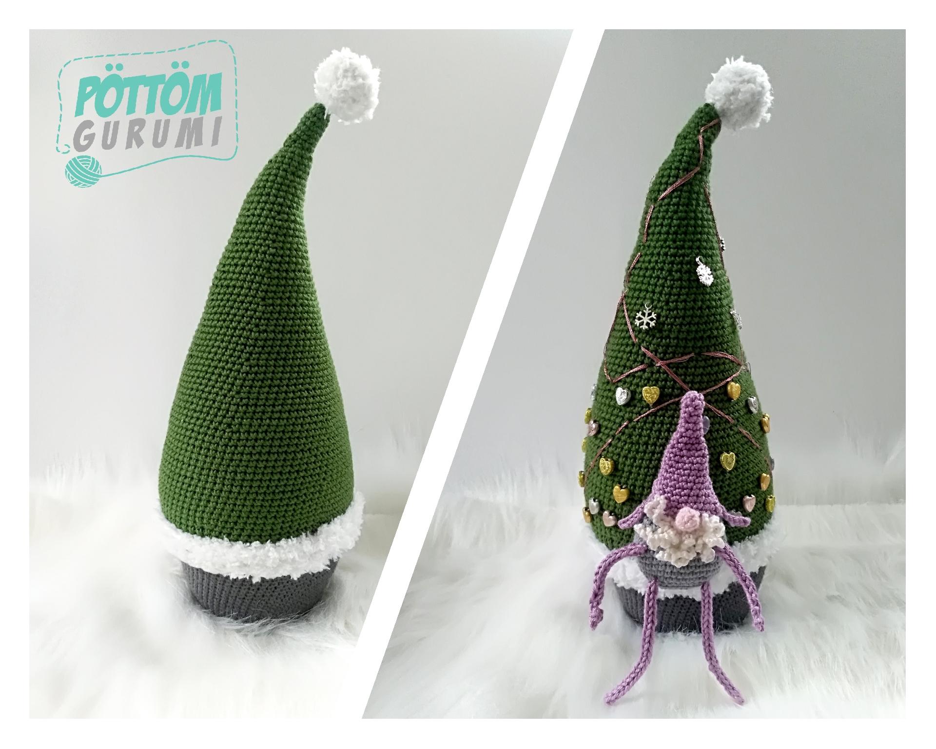 Horgolj velünk karácsonyra – amigurumi manófa