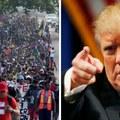 Trump és a karaván
