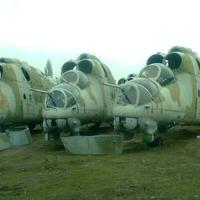 Bontott Mi-24-est tessék! Csak másfél millió a 24-es, tessék csak tessék
