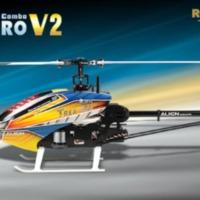 Ráncfelvarrás - Align T-Rex 450 Pro V2 helikopter