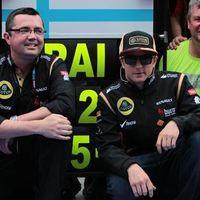 F1 Boullier szerint a Lotus versenybe tud szállni a Red Bull-lal Kimi kegyeiért