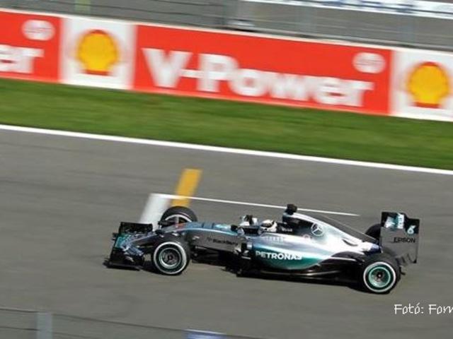 F1 A Belga Nagydíj rajtrácsa a büntetések után