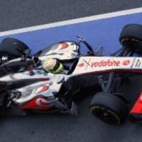 F1 Sergio Pérez négy világbajnok előtt zárt az élen 2. barcelonai tesztnapon