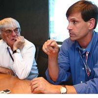 Bernie Ecclestone és Tavo Hellmund az Amerikai Nagydíjról