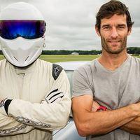 F1 Webber legyőzte csapattársát a Top Gearben (Videóval)