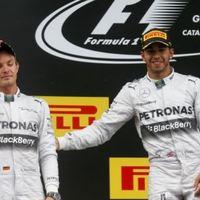 F1 Hamilton: Rosberg olyan erős csapattárs, mint Alonso volt 2007-ben