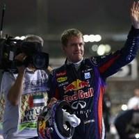 F1 Vettel zsinórban hetedik futamgyőzelmét húzta be Abu-Dzabiban