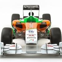 A Force India is leleplezte új versenyautóját