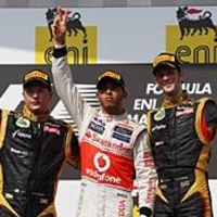 F1 Räikkönen: Addig mondogatjuk, amíg egyszer nem nyerünk - top3 pilóta pódium-nyilatkozata