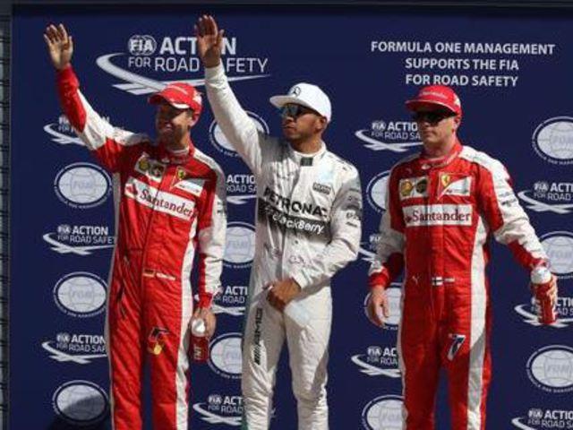 F1 Hamiltoné a pole, Räikkönen idén először első sorból rajtolhat