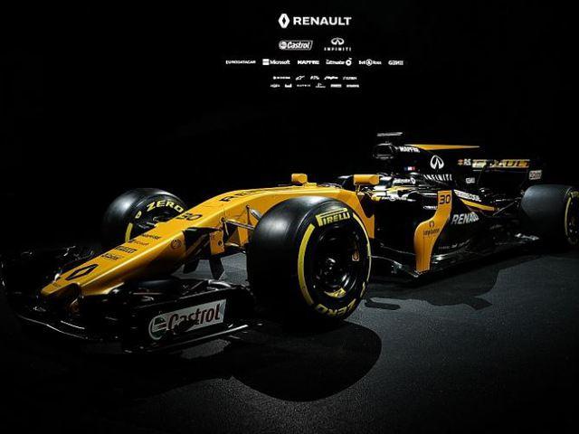 F1 A Renault megtartotta autóbemutatóját