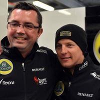 F1 Boullier szerint Kimi döntését nem befolyásolja a silverstone-i baki