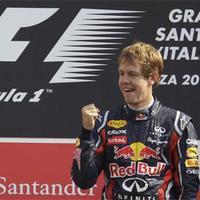 F1 Sebastian Vettel számára a monzai dobogó a világ legjobb pódiuma