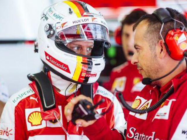 F1 Vettel még az eső előtt élre állt a 3. edzésen
