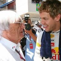 Ecclestone: Vettel számomra olyan, mint Jochen Rindt