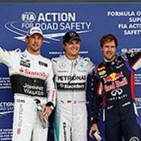 F1 Rosberg nyerte a drámai időmérőt Silverstone-ban