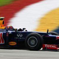 F1 Webber volt a leggyorsabb a sepangi első szabadedzésen