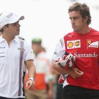 F1 Massa örül, hogy megszabadult a ferraris tehertől