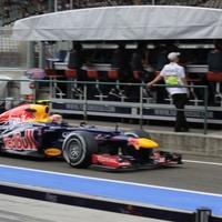 F1 Bajban a Red Bull?  Webber tagadja, hogy az új beállítás rossz hatással van az RB8-ra, de elismerte, sok munka van még hátra