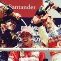 F1 Ferrari: Alonso diadala, és egy hajszál a levesben