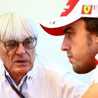 F1 Ecclestone értékel - Alonso túl korán feladata, Vettel a legjobb, Kimi egy sztárpilóta