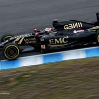 F1 Maldonado Räikkönen előtt az első barcelonai tesztnapon