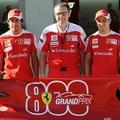 A Ferrarinál baljós előjelekkel indul a 800.futam