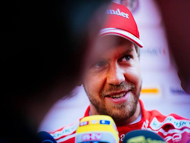 Vettel: Az F1-ben csak az eredmények számítanak