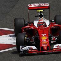 F1 Räikkönen vezetésével a Ferrarik az élen a második szabadedzésen