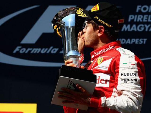 F1 Vettel fenomenálisra értékelte első ferraris félévét