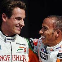 F1 Sutil nem pazarolja idejét egykori barátjára, Hamiltonra