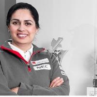 F1 Anya, nő, indiai, osztrák, csapatfőnök - Monisha Kaltenborn