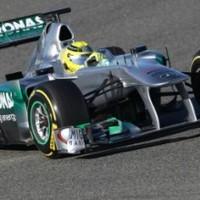 Rosberg zárt az élen a 3. tesztnapon