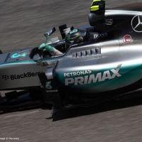 F1 Rosberg zárt az élen az időmérő előtt