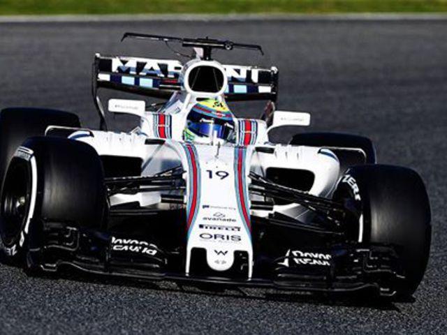 F1 Massa és a Williams bekeményített az első tesztnapon