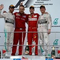 F1 A Mercedest lehengerelte a Ferrari és Vettel sikere