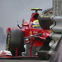 F1 Massa tudja, hogy nincs biztonságban