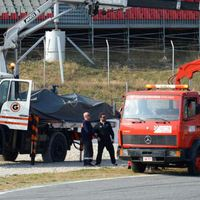 F1 Wolff és Nasr egymást okolja az első tesztnapon történt ütközésért