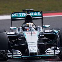 F1 Hamilton a második edzésen is megközelíthetetlen volt
