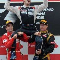 F1 Maldonado nyolc év után győzelemre vezette a Williams istállót