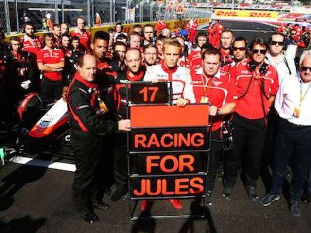 Az F1-es társadalom egy emberként gyászolja Jules Bianchit